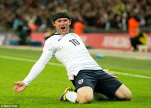 Rooney will start on the left wing tonight against Ecuador